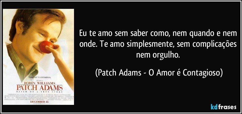 O Amor Contagioso - Patch Adams trailer legendado
