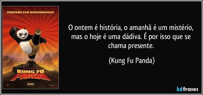 Por Miltinho De Carvalho Uma Mensagem: O Ontem é História, O Amanhã é Um Mistério, Mas O Hoje é