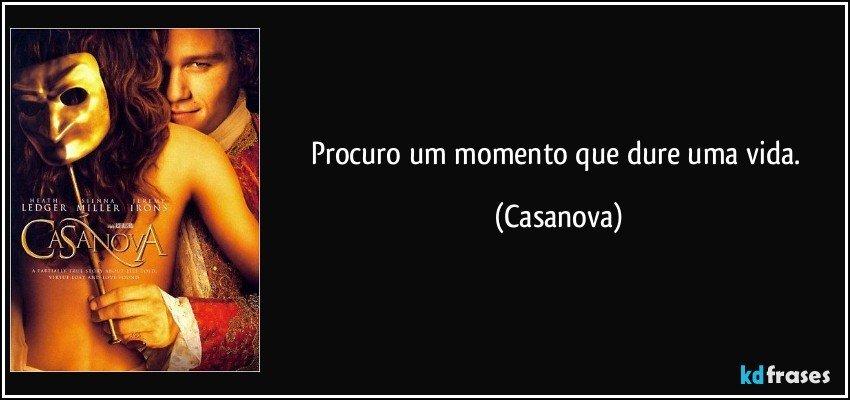 Casanova)frases e