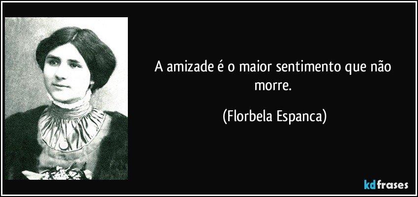 Florbela Espanca amizade