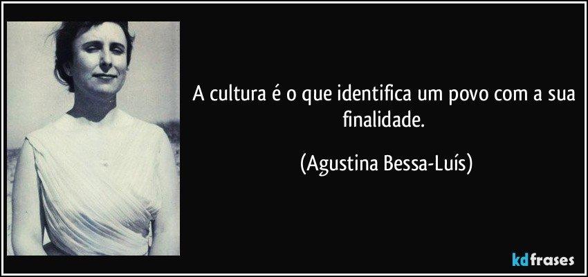 A Cultura é O Que Identifica Um Povo Com A Sua Finalidade