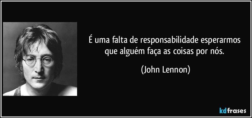 Por Miltinho De Carvalho Uma Mensagem: É Uma Falta De Responsabilidade Esperarmos Que Alguém Faça