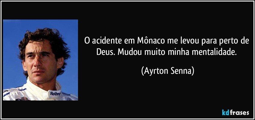 Ayrton Senna - Frases, Pensamentos e Citações - KD Frases