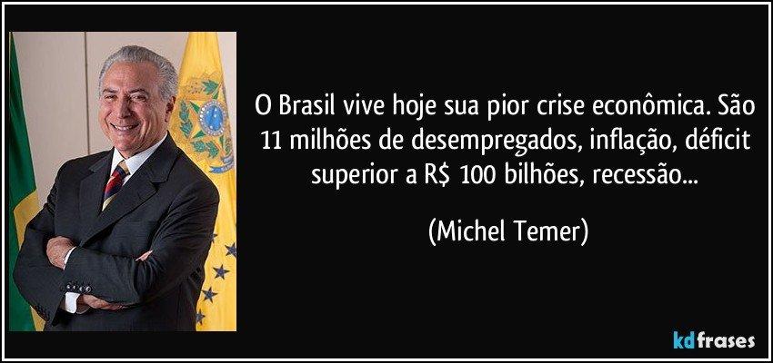 Resultado de imagem para crise economica no brasil e desemprego