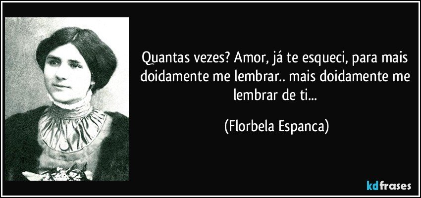 Florbela Espanca frases de amor