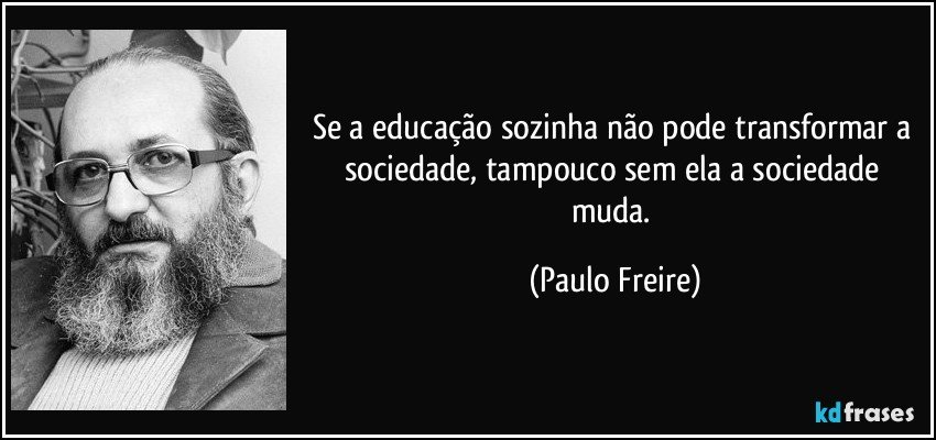 Se A Educação Sozinha Não Pode Transformar A Sociedade
