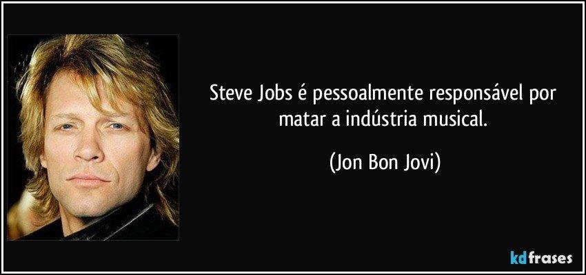 Steve Jobs é Pessoalmente Responsável Por Matar A Indústria