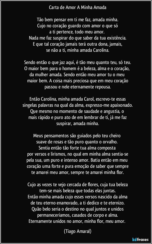 Carta De Amor Eterno Ug88 Ivango