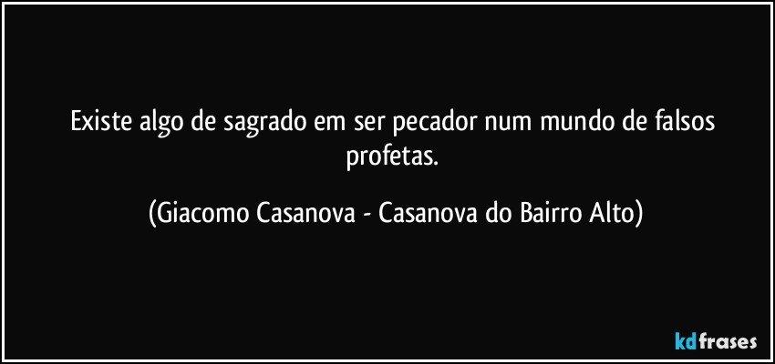 Frases de Giacomo Casanova