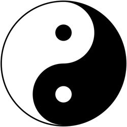 frases de acupuntura taoistas - ying yang