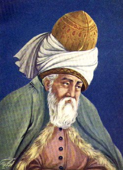 Resultado de imagem para jalal ad-din muhammad rumi poemas